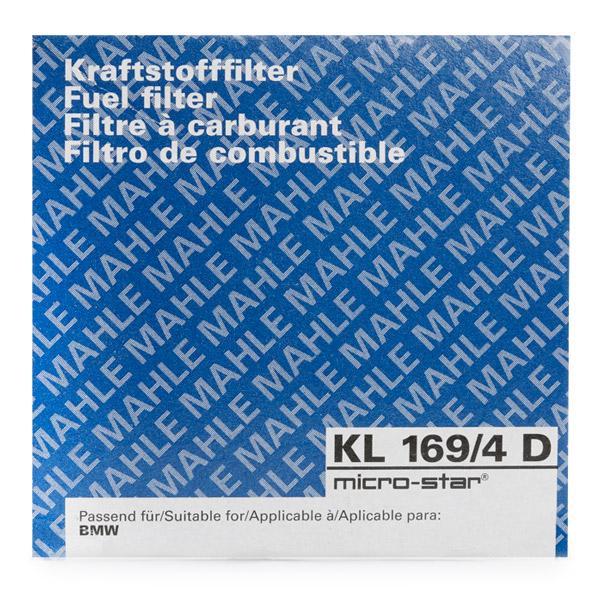 Kraftstofffilter MAHLE ORIGINAL KL169/4D 4009026878033