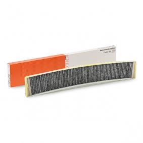 Filter, Innenraumluft Breite: 104,5mm, Höhe: 20,0mm mit OEM-Nummer 64319216590