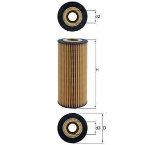 Hydraulikfilter, Automatikgetriebe Ø: 65,0mm, Höhe: 151mm, Filtereinsatz mit OEM-Nummer 1521527