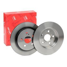Bremsscheibe Bremsscheibendicke: 9mm, Lochanzahl: 5, Ø: 259mm mit OEM-Nummer 42431-12310