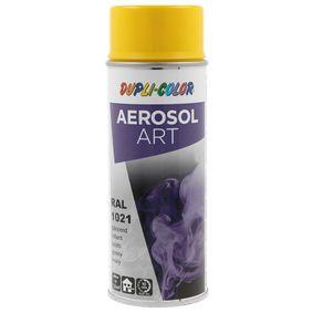 RAL-Spraydosen DUPLI COLOR 722493 für Auto (Sprühdose, 1021, Inhalt: 400ml)