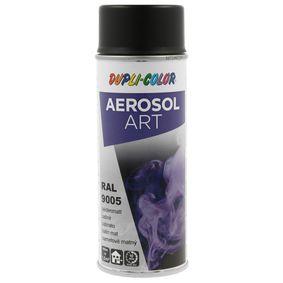 RAL-Spraydosen DUPLI COLOR 655814 für Auto (Sprühdose, 9005, Inhalt: 400ml)