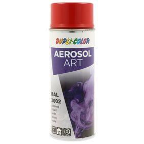 RAL-Spraydosen DUPLI COLOR 741098 für Auto (Sprühdose, 3002, Inhalt: 400ml)