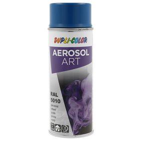 RAL-Spraydosen DUPLI COLOR 722561 für Auto (Sprühdose, 5010, Inhalt: 400ml)