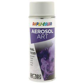 RAL-Spraydosen DUPLI COLOR 733185 für Auto (Sprühdose, 7035, Inhalt: 400ml)