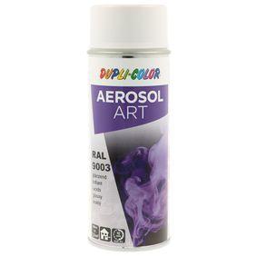 RAL-Spraydosen DUPLI COLOR 741418 für Auto (Sprühdose, 9003, Inhalt: 400ml)