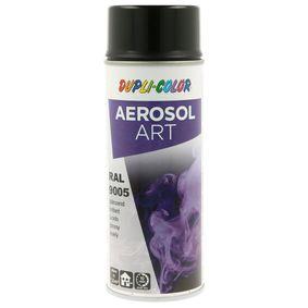 RAL-Spraydosen DUPLI COLOR 733123 für Auto (Sprühdose, 9005, Inhalt: 400ml)