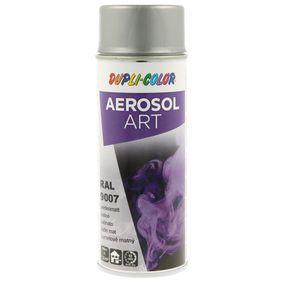 RAL-Spraydosen DUPLI COLOR 741432 für Auto (Sprühdose, 9007, Inhalt: 400ml)