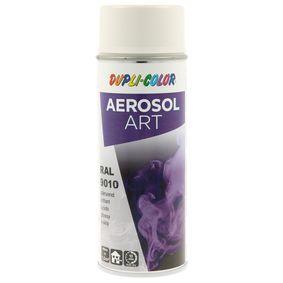 RAL-Spraydosen DUPLI COLOR 733130 für Auto (Sprühdose, 9010, Inhalt: 400ml)