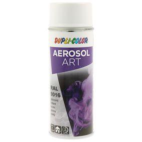 RAL-Spraydosen DUPLI COLOR 741449 für Auto (Sprühdose, 9016, Inhalt: 400ml)