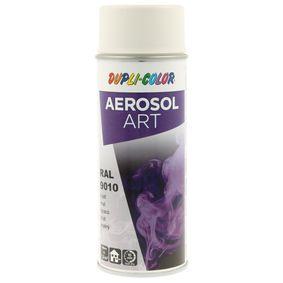 RAL-Spraydosen DUPLI COLOR 741548 für Auto (Sprühdose, 9010, Inhalt: 400ml)