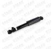 Amortiguador STARK 7282661 Eje trasero, Presión de gas, Amortiguador telescópico, Anillo inferior, Anillo superior