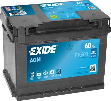 Batterie EXIDE EK600027AGM Bewertung