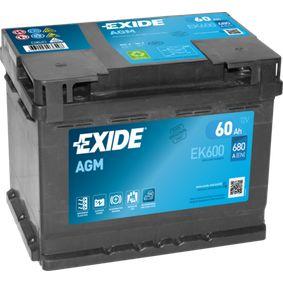 EXIDE EK600027AGM Bewertung