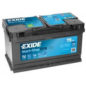 EL752 EXIDE 575500073 in Original Qualität