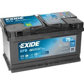 EXIDE EL752110EFB Bewertung