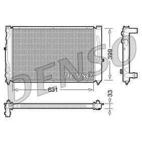 Wasserkühler VW PASSAT Variant (3B6) 1.9 TDI 130 PS ab 11.2000 DENSO Kühler, Motorkühlung (DRM02020) für