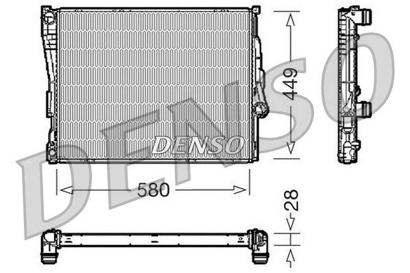 DENSO  DRM05069 Radiateur, refroidissement du moteur