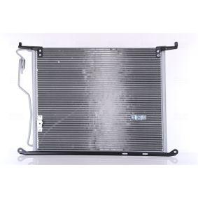 Kondensator, Klimaanlage Netzmaße: 620 x 478 x 16 mm mit OEM-Nummer 220 500 0454