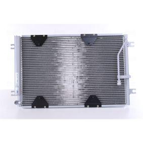 NISSENS  940174 Kondensator, Klimaanlage Netzmaße: 620 x 375 x 16 mm