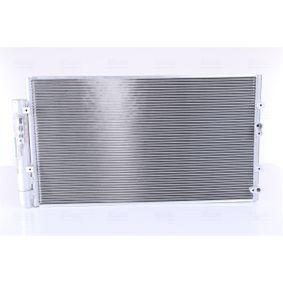 NISSENS  940366 Kondensator, Klimaanlage Netzmaße: 586 x 328 x 16 mm