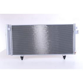 NISSENS  940257 Kondensator, Klimaanlage Netzmaße: 660 x 297 x 16 mm