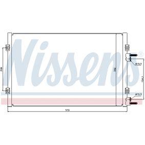 Kondensator, Klimaanlage Kältemittel: R 134a mit OEM-Nummer 5093598AA