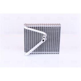 Evaporator, air conditioning 92206 PUNTO (188) 1.2 16V 80 MY 2004