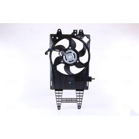 Fan, radiator 85162 PUNTO (188) 1.2 16V 80 MY 2000
