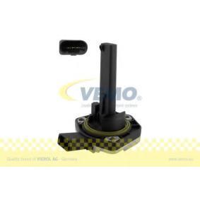 VEMO Sensor, Motorölstand V10-72-1087-1 für AUDI A4 Cabriolet (8H7, B6, 8HE, B7) 3.2 FSI ab Baujahr 01.2006, 255 PS