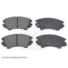 Bremsbelagsatz, Scheibenbremse Breite: 66,6mm, Dicke/Stärke 1: 17,8mm mit OEM-Nummer 95520061