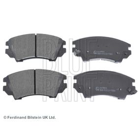 Brake Pad Set, disc brake Width: 66,6mm, Thickness 1: 17,8mm with OEM Number 13 23 7751