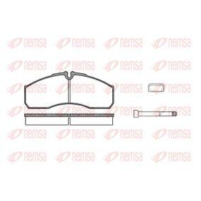 Bremsbelagsatz, Scheibenbremse Höhe: 67,9mm, Dicke/Stärke: 20,2mm mit OEM-Nummer 41060 9X129