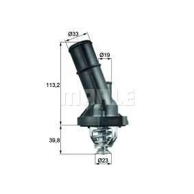 Thermostat, coolant with OEM Number 03L 121 111AC