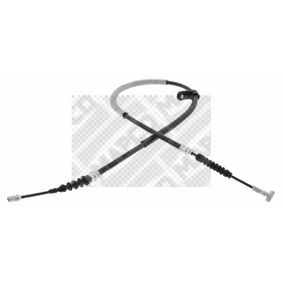 MAPCO  5009 Cable, parking brake Length: 1235mm
