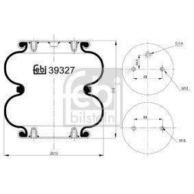 FEBI BILSTEIN  39327 Soufflet à air, suspension pneumatique