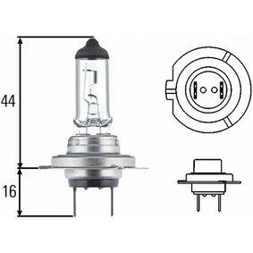 Bulb, headlight H7, PX 26 D, 55W, 12V 8GH 178 560-493
