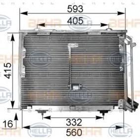 Kondensator, Klimaanlage Art. Nr. 8FC 351 036-014 120,00€