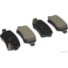 Brake Pad Set, disc brake J3610525 Astra Mk5 (H) (A04) 1.7 CDTI MY 2005