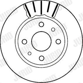 Bremsscheibe Bremsscheibendicke: 20mm, Lochanzahl: 4, Ø: 239mm mit OEM-Nummer 21103501070
