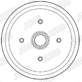 Brake Drum Drum Ø: 180mm with OEM Number 6 492 327