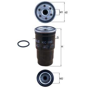 Kraftstofffilter Höhe: 126mm mit OEM-Nummer 60031-12110