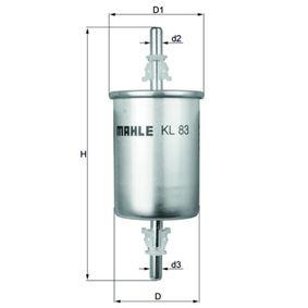 Fuel filter KL 83 Astra Mk5 (H) (A04) 1.6 MY 2005