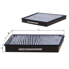 Filter, Innenraumluft Breite: 254,0mm, Höhe: 34,0mm mit OEM-Nummer A211 830 00 18