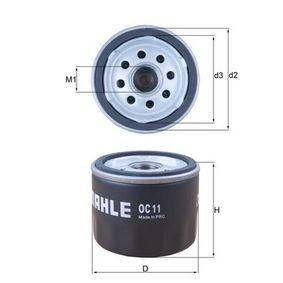 Ölfilter Ø: 76,3mm, Außendurchmesser 2: 72mm, Ø: 76,3mm, Innendurchmesser 2: 63mm, Innendurchmesser 2: 63mm, Höhe: 59mm mit OEM-Nummer 71736169