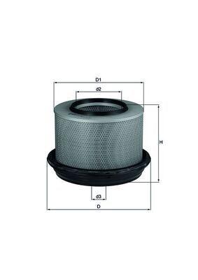 KNECHT  OC 63 Ölfilter Ø: 93,2mm, Ø: 93,2mm, Höhe: 96mm