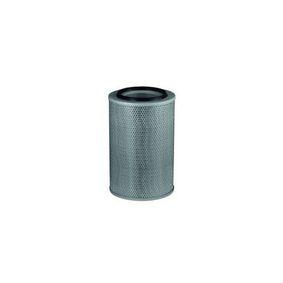 Filtro de aceite Diám. int. 2: 62,0mm, Altura: 141,0mm con OEM número 5004 552