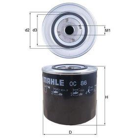 Ölfilter Ø: 108,0mm, Außendurchmesser 2: 72mm, Ø: 108,0mm, Innendurchmesser 2: 62mm, Innendurchmesser 2: 62mm, Höhe: 97mm mit OEM-Nummer 7701349151