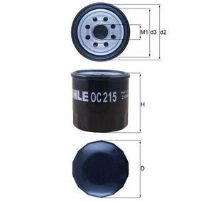 Regulador de Presión de Combustible SUZUKI BALENO Fastback (EG) 1.6 i 16V 4x4 de Año 07.1995 98 CV: Filtro de aceite (OC 215) para de KNECHT