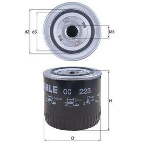 Ölfilter Außendurchmesser 2: 72,0mm, Ø: 93,2mm, Innendurchmesser 2: 62,0mm, Höhe: 96,0mm, Höhe 1: 94,5mm mit OEM-Nummer J087 1919